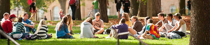 Photo: Students Outside for Class